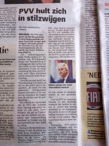61f3bdaa2cf186 Opstappen na Europees verkiezingsdebacle geen optie voor Wilders: 'U zult me  nooit zien gaan'