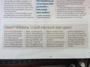 Citaten Filosofie Zaman : Geert wilders « debat in de digitale hofstad